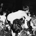 "Pankrti, once hailed as ""the first punk band behind the Iron Curtain"", live in Ljubljana 1979. Photo © Vojko Flegar"