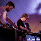 Mount Kimbie live at Dimensions, Croatia 2012 / Photo: Dan Medhurst